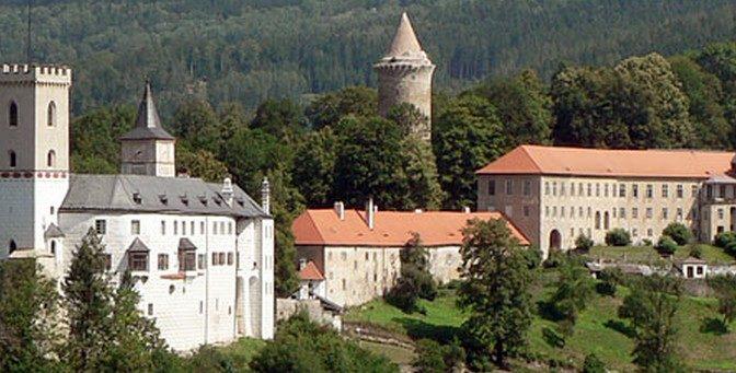 Silvestr 2017/2018 na hradě Rožmberku