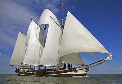 Holandsko 2020 na plachetnici